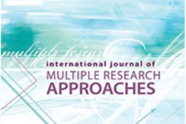 The cover of an issue of the International Journal of Multiple Research Approaches