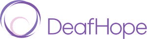Logo for the organization Deaf Hope