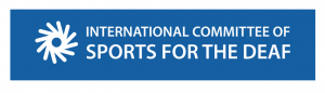 Logo for the International Committee of Sports for the Deaf