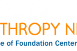 "Logo for Philanthropy News Digest. The slogan in the logo says ""PND - a service of Foundation Center."""