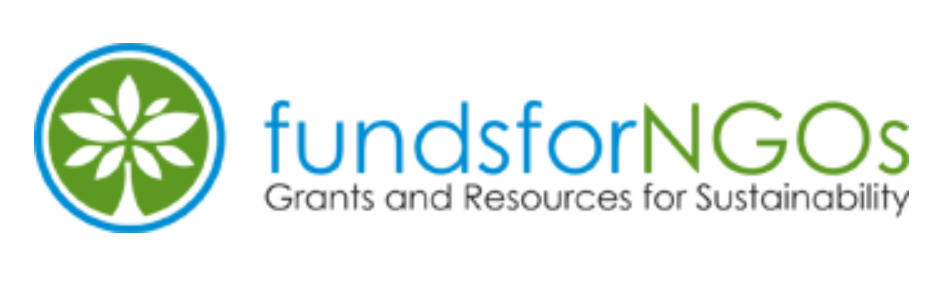 "Logo for ""funds for NGos"". Below the name of the website is the slogan ""Grants and Resources for NGOs"""