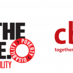 "Two logos appear side by side. The first is for the website ""End the Cycle of Poverty and Disability"". The second is the logo for CBM with the slogan ""together we can do more""."