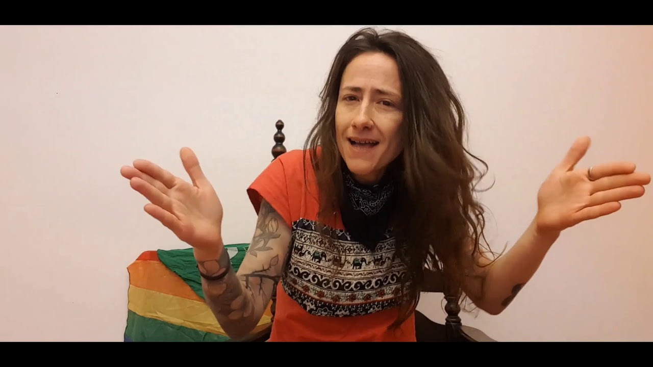 Screenshot from a video on the Deaf Feminist movement in Argentina