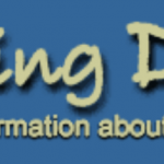 "This banner for the web site ""Raising Deaf Kids"" shows an abstract drawing of two parents with their arms around two young children and a baby. Below the name of the web site is the motto, ""A world of information about children with hearing loss."""