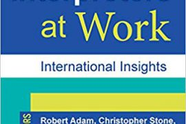 """Cover of the book """"Deaf Interpreters at Work: International Insights"""""""