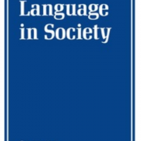 Cover of an issue of the academic journal entitled